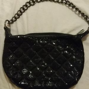 Black Small Whiting and Davis Purse